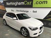 2013 BMW 1 SERIES 2.0 118D M SPORT 5d 141 BHP £9995.00
