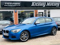 USED 2012 62 BMW 1 SERIES M135i 3.0 MANUAL ADAPTIVE SUSPENSION & SPORTS EXHAUST