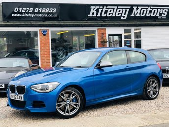 2012 BMW 1 SERIES M135i 3.0 MANUAL ADAPTIVE SUSPENSION & SPORTS EXHAUST £11995.00