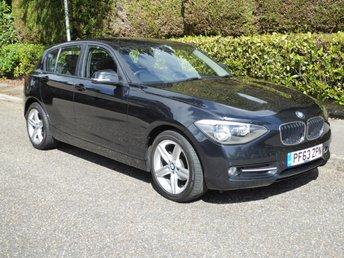 2014 BMW 1 SERIES 1.6 116I SPORT 5d 135 BHP £8750.00