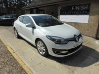 USED 2014 14 RENAULT MEGANE 1.5 DYNAMIQUE TOMTOM ENERGY DCI S/S 3d 110 BHP
