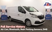 2015 RENAULT TRAFIC 1.6 DCi BUSINESS PLUS ENERGY SL27 120 BHP with Air Conditioning, Bluetooth, DAB Radio, Rear Parking Sensors and more £8680.00