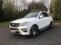 "USED 2013 63 MERCEDES-BENZ ML 350 3.0 ML350 CDI BlueTEC AMG Sport SUV 5dr Diesel 7G-Tronic Plus (189 g/km, 258 bhp) PANORAMIC SUNROOF 22""S COMAND"