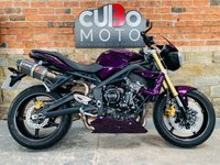 USED 2012 62 TRIUMPH STREET TRIPLE 675 Scorpion Red Power Exhausts