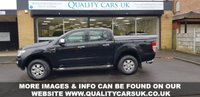 USED 2012 12 FORD RANGER 2.2 XLT 4X4 DCB TDCI 1d 148 BHP ** NO VAT ** The Ranger is a pick-up that you could live with on a daily basis