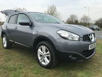 USED 2010 10 NISSAN QASHQAI 1.5 DCI N-TEC STUNNING WELL LOOKED AFTER CAR WITH SATNAV ETC