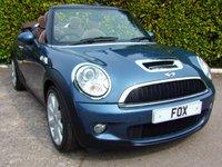 2010 MINI CONVERTIBLE 1.6 COOPER S 2d 184 BHP £4475.00