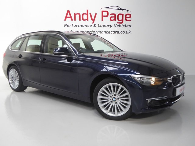 2014 14 BMW 3 SERIES 2.0 320I XDRIVE LUXURY TOURING 5d AUTO 181 BHP