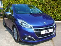 USED 2017 67 PEUGEOT 208 1.6 BLUE HDI S/S ALLURE 5d 100 BHP