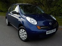 2005 NISSAN MICRA 1.2 S 3d AUTO 80 BHP £SOLD