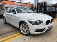 2011 BMW 1 SERIES 1.6 116I SPORT 5d AUTO 135 BHP £9788.00