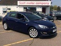 2013 VAUXHALL ASTRA 1.3 SE CDTI 5 door Diesel £5599.00