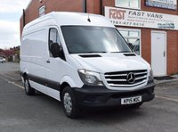 2015 MERCEDES-BENZ SPRINTER 2.1 313 CDI Mwb High Roof 129 BHP £9949.00