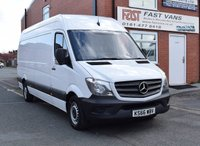2016 MERCEDES-BENZ SPRINTER 2.1 314 CDI Lwb High Roof 140 BHP £13949.00
