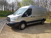 2016 FORD TRANSIT 2.2 350 5d HIGH ROOF LWB 125BHP CRUISE PARKING SENSORS £9495.00
