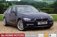 USED 2013 63 BMW 3 SERIES 2.0 318D LUXURY 4d AUTO 141 BHP BLUETOOTH PHONE & MEDIA PARKING SENSORS FULL HEATED DAKOTA LEATHER DAB EXCEPTIONAL EXAMPLE