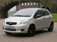 2008 TOYOTA YARIS 1.0 T2 VVT-I 5d 69 BHP £1990.00