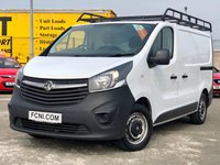 USED 2015 15 VAUXHALL VIVARO 1.6 2700 L1H1 CDTI P/V // Roof Rail and Ladder // Ply Lined //