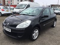 USED 2007 57 RENAULT CLIO 1.1 EXTREME 16V 3d 11 MONTHS MOT