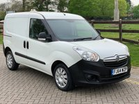 2014 VAUXHALL COMBO VAN 1.3 CDTi ecoFLEX 16v 2300 L1H1 Crew Van (s/s) 5dr (5 seat) £5850.00