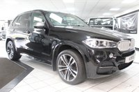 USED 2014 63 BMW X5 3.0 M50D AUTO 376 BHP FBMWSH PAN ROOF 360 CAM 20'S