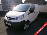 USED 2015 15 NISSAN NV200 1.5 DCI ACENTA 3dr +++ NO VAT +++ VERY TIDY LOW RUNNING COST VAN