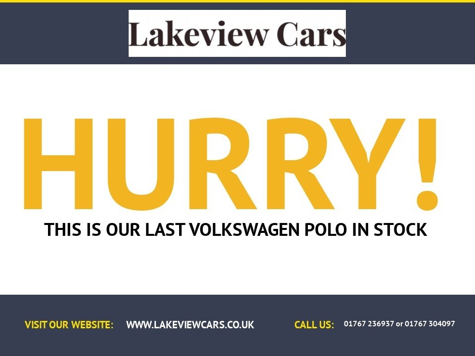 USED 2008 08 VOLKSWAGEN POLO 1.4 MATCH 5d 79 BHP