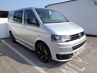 USED 2014 14 VOLKSWAGEN TRANSPORTER 2.0 T32 TDI SPORTLINE KOMBI AUTO DSG 177 BHP NO VAT 1 OWNER FACTORY SPORTLINE CAPTAIN SEATS FULL LEATHER ALLOYS AIR CON