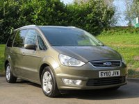 USED 2010 60 FORD GALAXY 2.0 ZETEC TDCI 5d 138 BHP A 7 SEATER GREAT FAMILY CAR