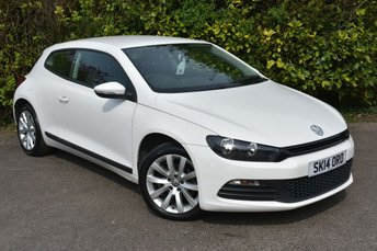 2014 VOLKSWAGEN SCIROCCO 1.4 TSI Coupe 3dr Petrol Manual (149 g/km, 123 bhp) £9990.00
