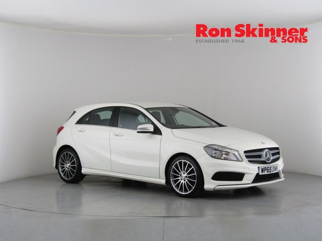 View our 2015 65 MERCEDES-BENZ A-CLASS 2.1 A200 CDI AMG SPORT 5d 136 BHP