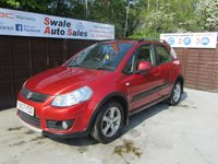 USED 2007 07 SUZUKI SX4 1.6 GLX 5d 106 BHP FINANCE AVAILABLE FROM £23 PER WEEK OVER TWO YEARS - SEE FINANCE LINK FOR DETAILS