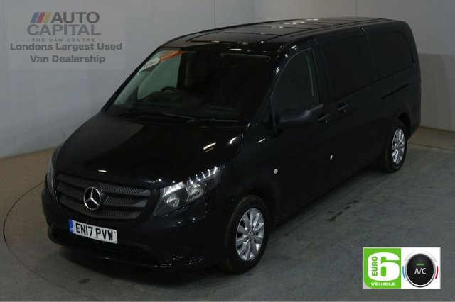 2017 17 MERCEDES-BENZ VITO 2.1 114 BLUETEC TOURER SELECT 136 BHP EXTRA LWB EURO 6 AUTO AIR CON 9 SEATER