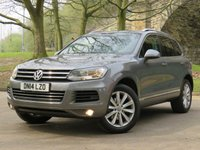 2014 VOLKSWAGEN TOUAREG 3.0 V6 SE TDI BLUEMOTION TECHNOLOGY 5d AUTO 242 BHP £13970.00