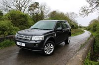 2010 LAND ROVER FREELANDER 2 2.2 SD4 HSE 5d AUTO 190 BHP (FREE 2 YEAR WARRANTY) £12799.00