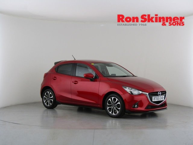 View our 2015 65 MAZDA 2 1.5 SPORT BLACK 5d 89 BHP