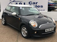 USED 2010 60 MINI HATCH COOPER 1.6 COOPER 3d 122 BHP