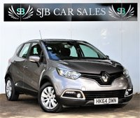 USED 2014 64 RENAULT CAPTUR 1.5 EXPRESSION PLUS ENERGY DCI S/S 5d 90 BHP Full Service History & New Mot