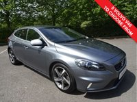 USED 2014 64 VOLVO V40 1.6 D2 R-DESIGN LUX 5d 113 BHP