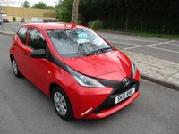 USED 2016 16 TOYOTA AYGO 1.0 VVT-I X 5d 69 BHP WAS £6,495 NOW ONLY £5,995 !!