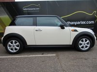 USED 2007 57 MINI HATCH ONE 1.4 ONE 3d 94 BHP 80,000 MILES No Deposit Finance & Part Ex Available
