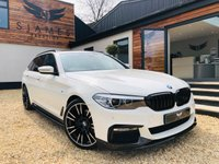 USED 2017 17 BMW 5 SERIES 2.0 520D M SPORT TOURING 5d AUTO 188 BHP