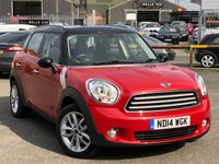 USED 2014 14 MINI COUNTRYMAN 1.6 COOPER D ALL4 5d 112 BHP *DAB DIGITAL RADIO, BLUETOOTH PHONE, AUX AND USB INPUT*