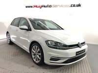 2018 VOLKSWAGEN GOLF 2.0 GT TDI BLUEMOTION TECHNOLOGY DSG 5d 148 BHP £17750.00
