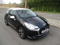 USED 2016 66 DS DS 3 1.2 PURETECH CHIC 3d 80 BHP WAS £9,195 NOW ONLY £8,695 !!