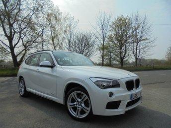 2013 BMW X1 2.0 XDRIVE25D M SPORT 5d AUTO 215 BHP £11995.00