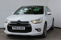 USED 2013 63 CITROEN DS4 1.6 E-HDI AIRDREAM DSTYLE 5d 115 BHP