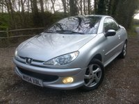 USED 2004 04 PEUGEOT 206 1.6 ALLURE S COUPE CABRIOLET 2d 108 BHP