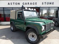USED 2005 55 LAND ROVER DEFENDER 2.5 90 PICK-UP TD5 120 BHP **CANVAS TOP * SNORKEL ** ** EX MOOR CANVAS ROOF * SNORKEL * MODULARS **