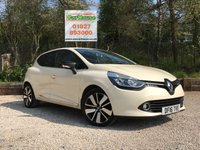 USED 2016 16 RENAULT CLIO 1.5 ICONIC 25 NAV DCI 5dr AUTO Sat Nav, Leather, Keyless